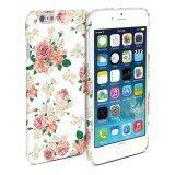 โปรโมชั่น Gmyle เคสโทรศัพท์ สำหรับ Iphone 6 Plus 5 5 Inch ลายดอกไม้สีขาว
