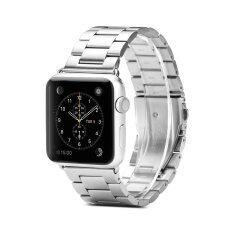 ราคา Gmyle สายนาฬิกา สายสแตนเลส Apple Watch 38 Mm สีเงิน ออนไลน์