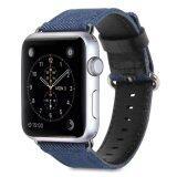 ราคา Gmyle สายนาฬิกาApple Watch ขนาด 42Mm ผ้ายีนส์สีฟ้า ออนไลน์