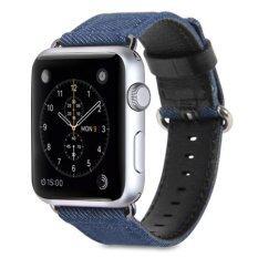ขาย Gmyle สายนาฬิกาApple Watch ขนาด 42Mm ผ้ายีนส์สีฟ้า