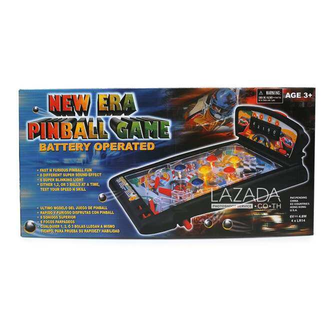 Golden Bright B/O super flipper pinball 892599