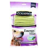 ขาย Goodies เอ็นเนอร์จี้ทรีต แท่งเกลียว ขนมสุนัข500กรัม สีเขียว