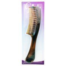 ราคา Goody หวีซี่ห่าง Mosaic Super Detangling Comb สีน้ำตาล ใน กรุงเทพมหานคร