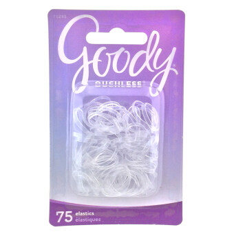 Goody ยางรัดผม Womens Ouchless Mini Crystal Polyband Elastics 75 ชิ้น