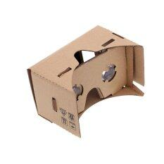 ราคา Google แว่น Vr Google Cardboard 2 Virtual Reality Game Movie 3D Google เป็นต้นฉบับ