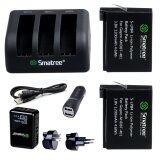 ส่วนลด Gopro Smatree® 1290Mah Replacement Battery 2 Pack For Gopro Hero4 And 3 Channel Charger Wall Charger Car Charger For Gopro Hero 4 Camera สมุทรปราการ