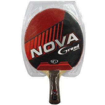 Grand sport ไม้เทเบิลเทนนิส แกรนด์สปอร์ต รุ่น Nova 3 ดาว (สีแดง)
