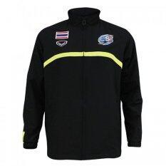 ขาย ซื้อ ออนไลน์ Grand Sport เสื้อ Track Suit วอลเลย์บอลทีมชาติ พิมพ์ สีดำ