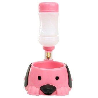 Gussoshop Bulltus Store Pet Feeder G04070P ที่ให้อาหารและน้ำปรับระดับได้