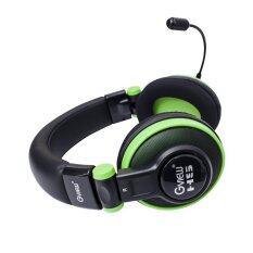 Gview ชุดหูฟังเกมมิ่ง (GV01GH) รุ่น H5 - สีดำ/เขียว