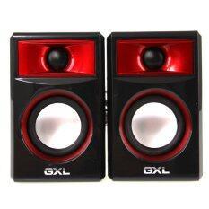 ซื้อ Gxl ชุดลำโพง Notebook ลำโพงคอม ขนาดเล็ก รุ่น Gl 2008 Black Red Unbranded Generic ออนไลน์