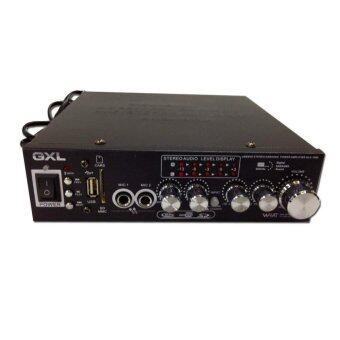 GXL เครื่องขยายเสียง รุ่น GLA-1098 - สีดำ