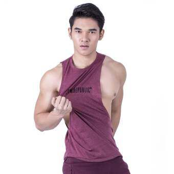 GYMREPUBLIC SLEEVELESS (MAROON)