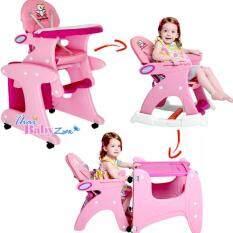 ขาย ซื้อ Smartkidschair เก้าอี้ทานข้าวเด็กพร้อมโต๊ะเด็กและเก้าอี้เด็ก แบบ 3In1 รุ่น Kc 3In1 A สีชมพู ใน ศรีสะเกษ