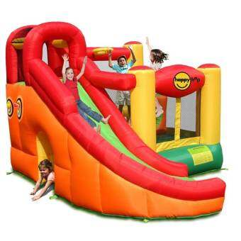 HAPPY HOP บ้านเป่าลม Inflatable house  bounce castle slide-