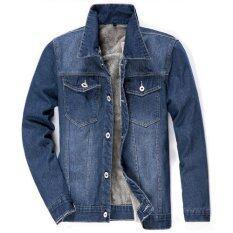 ขาย Happyu เสื้อยีนส์กันหนาวบุขนด้านใน Jacket Jeans Sc03 Grey ถูก ใน Thailand