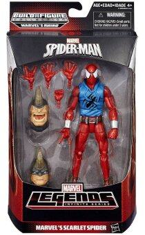 Hasbro Marvel Legends Infinite Rhino Series Spider-Man : Scarlet Spider