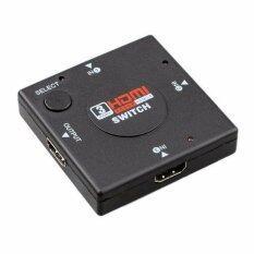 ซื้อ Hdmi 3 Port Switch Hdmi Switch เข้า 3 ออก 1 สำหรับเพิ่มช่อง Hdmi ถูก ไทย