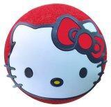 Hello Kitty ลูกบอลเสียบเสาอากาศรถยนต์ สีแดง ถูก