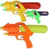 ขาย Hellomom ปืนฉีดน้ำอัด 11 นิ้ว Water Gun 11 จำนวน 3 อัน ถูก ใน ไทย