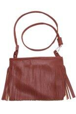 ส่วนลด Hengsong Tassel Crossbody Bags Brown