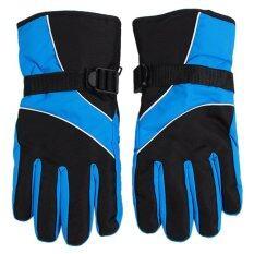 Hengsong กันน้ำถุงมือป้องกัน (สีฟ้า).