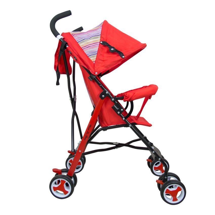 ลดสมมนาคุณลูกค้า Aprica รถเข็นเด็กแบบนอน Aprica  รถเข็นเด็ก รุ่น Magical  Air High Seat  RD สีแดง อ่านรีวิว พันทิป