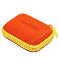 ส่วนลด Hiegi เคสเก็บหูฟังแฟชั่น Carry Case สีส้ม
