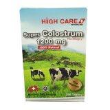 ราคา High Care Super Colostrum 1200 Mg Plus Omega3 คลอลอสตรุ้ม 250 เม็ด 1 กล่อง กรุงเทพมหานคร