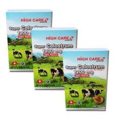 ซื้อ High Care Super Colostrum 1200 Mg Plus Omega3 คลอลอสตรุ้ม 250 เม็ด 3 กล่อง High Care เป็นต้นฉบับ