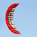 ขาย High Quality 2 5M Red Dual Line Parafoil Kite Withflying Tools Power Braid Sailing Kitesurf Rainbow Sports Beach ออนไลน์ จีน