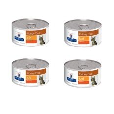 ซื้อ Hill S Science Diet Feline K D อาหารแมว โรคไต แบบกระป๋อง 156G 4 Units ใหม่
