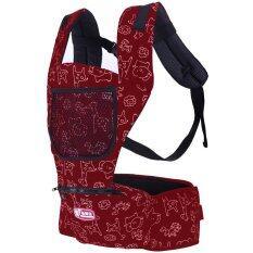 ซื้อ Hisomart เป้อุ้มเด็ก Hip Seat สีแดง กรุงเทพมหานคร