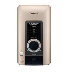 Hitachi เครื่องทำน้ำอุ่น 3 500วัตต์ สีทองแชมเปญเมทัลลิค รุ่น Hes 35Vs Mcg เป็นต้นฉบับ