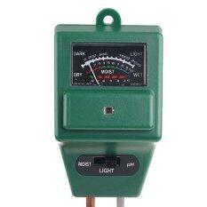 ขาย Hitech เครื่องวัดความชื้นกรด ด่าง Soil Moisture Ph Meter รุ่น Etp306 สีเขียว เงิน ใน ไทย
