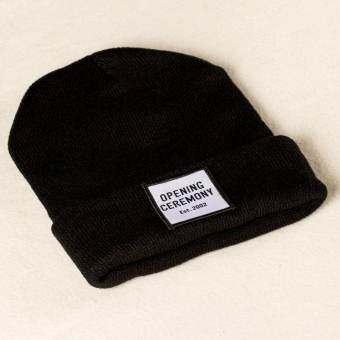 All Caps Thailand - หมวกไหมพรม - Opening (สีดำ)
