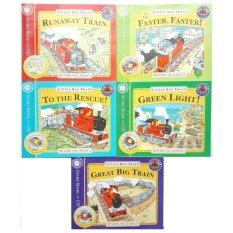 Little Red Train Collection - 5 books & CD หนังสือ นิทาน ภาษาอังกฤษ English Children Book