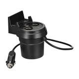 ซื้อ Hoco Multifunctional Cup Shape Car Charger ถ้วยขยายช่องจุดบุหรี่ 2 ช่อง พร้อม Usb 2 Port ในรถยนต์ รุ่น Uc207 สีดำ Hoco ถูก