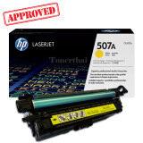 ซื้อ Hp 507A Ce402A สีเหลือง ใช้กับเครื่องรุ่น Color Enterprise 500 M551N M551Dn M551Xh หมึกสีแท้ รับประกันศูนย์ Hp ออนไลน์