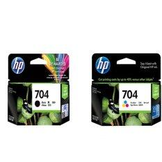 ราคา Hp 704 Ink Cartridge Cn692Aa Black Hp 704 Ink Cartridge Cn693Aa Color ออนไลน์