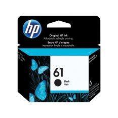 HP Inkjet 61 Ink Cartridge รุ่น CH561WA (สีดำ) ของแท้HP Deskjet 1000, 1050, 2000, 2050, 3000, 3050A, 1010, 1510