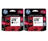 ซื้อ Hp Inkjet 678 Black Hp Inkjet 678 Tri Color ใน ไทย