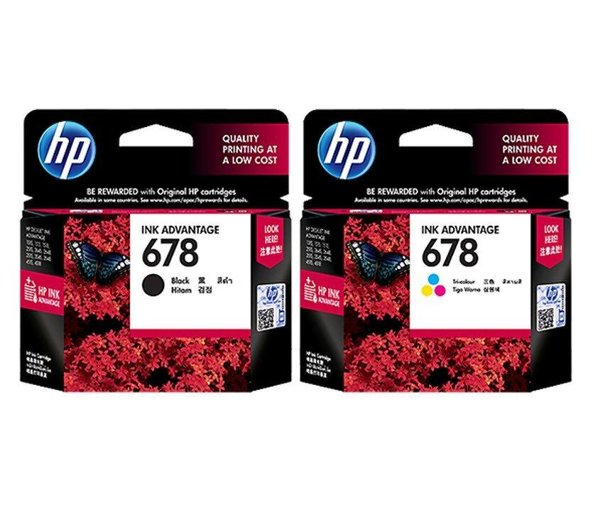 HP INKJET 678 Black + HP INKJET 678 Tri-color