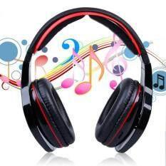 ซื้อ หูฟังแบบครอบหู บลูทูธ ไร้สาย รุ่น Stn 16 Bluetooth Stereo Headset สีดำ ใหม่ล่าสุด
