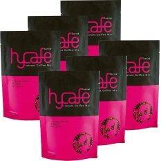 Hycafe ไฮคาเฟ่ กาแฟเพื่อสุขภาพ 10 ซอง 6 ห่อ เป็นต้นฉบับ