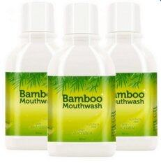 ความคิดเห็น Hylife Bamboo Mouthwash น้ำยาบ้วนปากบูเม้าท์วอช ขจัดคราบหินปูน ชา กาแฟ 300 Ml 3 ขวด