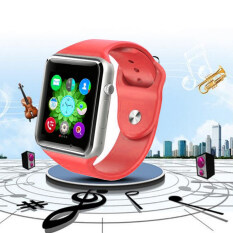 I-SMART Bluetooth watch for IOS and Android Phone (Red)