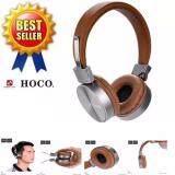 ส่วนลด I Unique Hoco หูฟัง Headphones W2 สีน้ำตาล ไทย