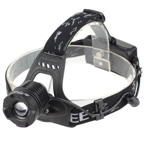 ราคา I Unique New 1600 Lumen Lumen Cree Xm L T6 Led Zoom Adjustable Headlamp Headlight Black I Unique
