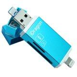 ขาย Idragon Card Reader Micro Sd Sd Card Usb 3 With Lightning For Ios Android Blue ไทย